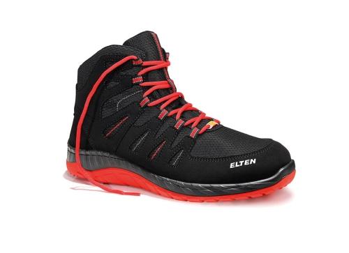 b142e44d Trzewiki ELTEN Maddox black-red mid ESD S3 Twój sklep internetowy